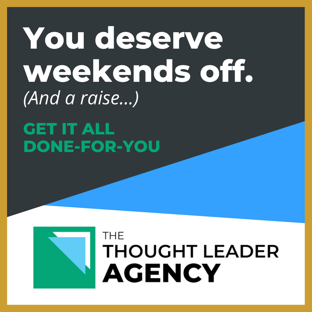 The Thought Leader Agency - Done-For-You Business Growth Solutions For Coaches & Consultants